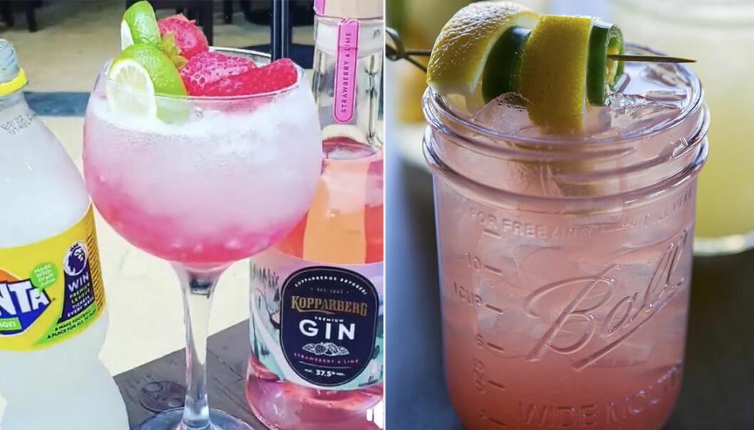 pink gin Fanta