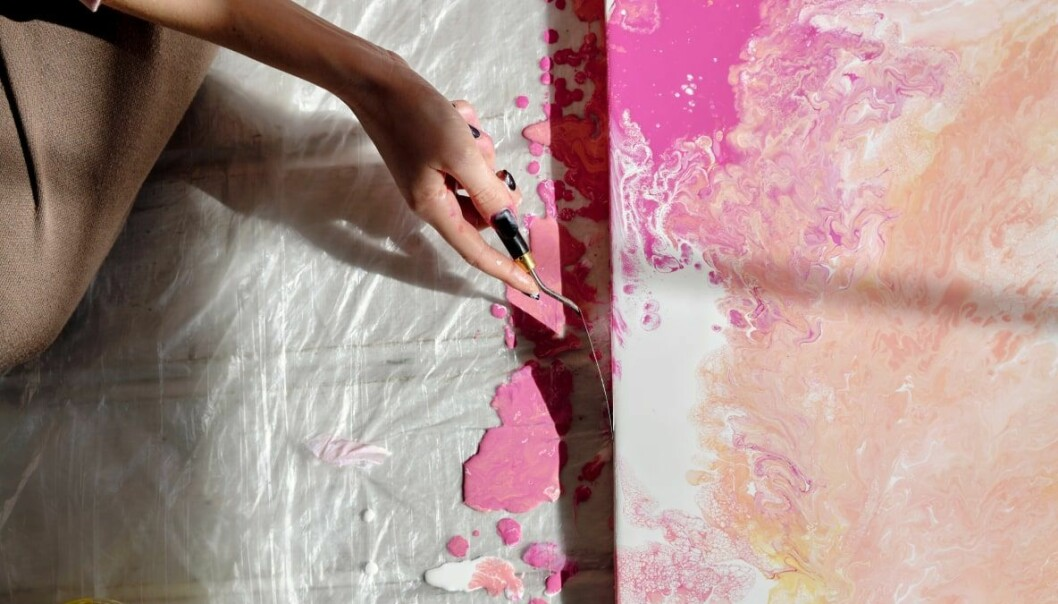 måla tavla