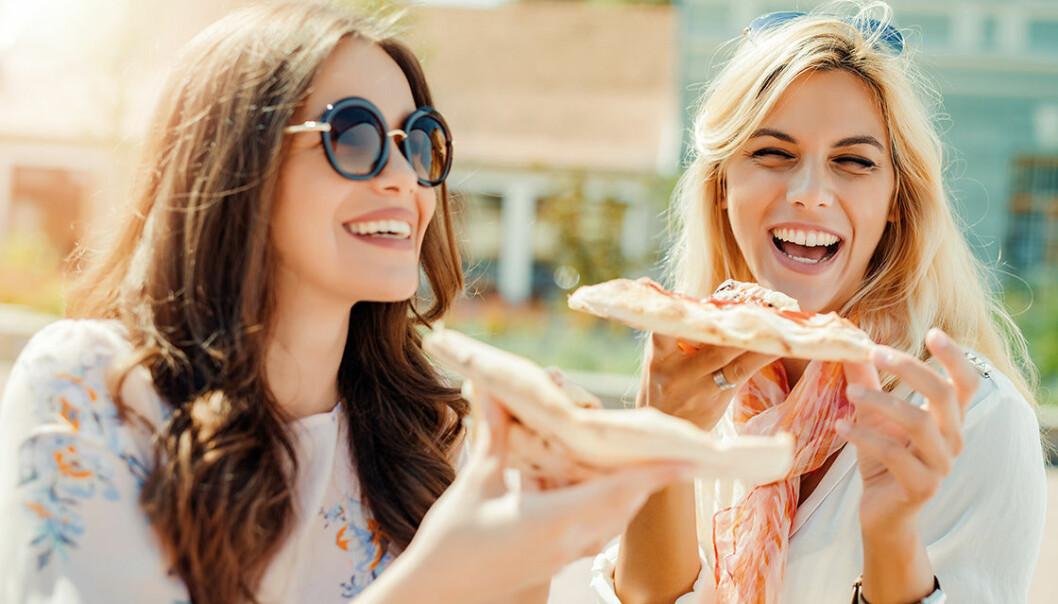 Blir du också så här glad av pizza?