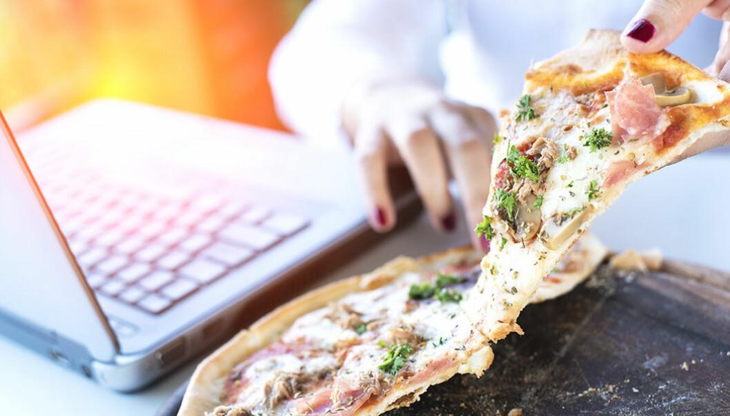 Pizza kan göra under för arbetsmoralen!