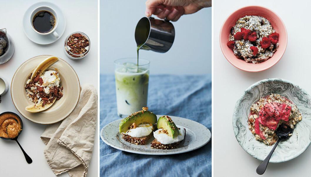 """Recept från Pom & Floras nya kokbok """"Frukost hela dagen""""."""