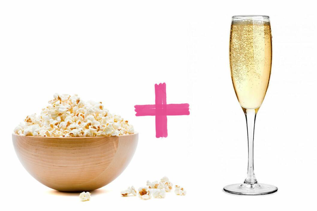 popcorn-prosecco