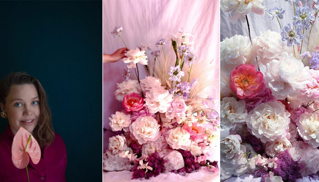 Blomsterkreationer av Poppykalas.