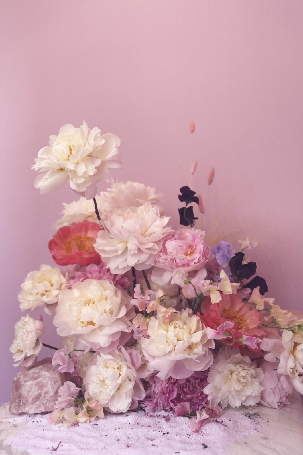 poster med blommor av poppykalas
