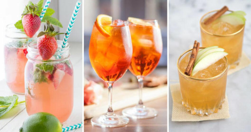 Några av våra populäraste drinkar.