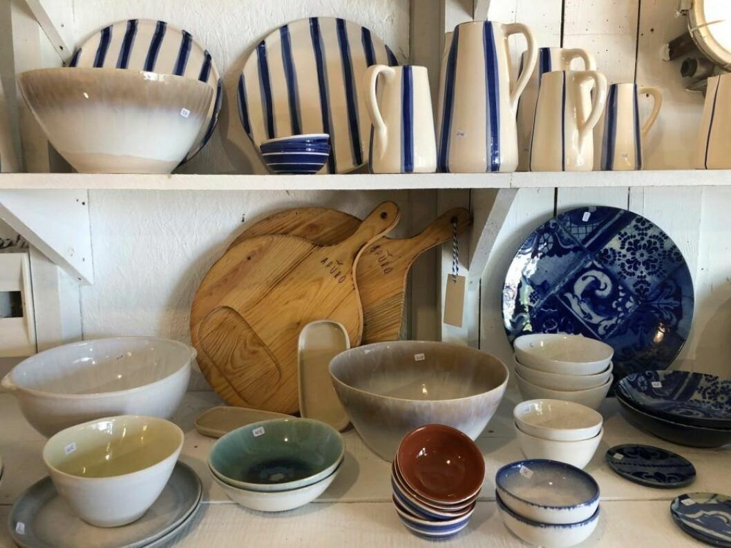 Keramik i Comporta i Portugal