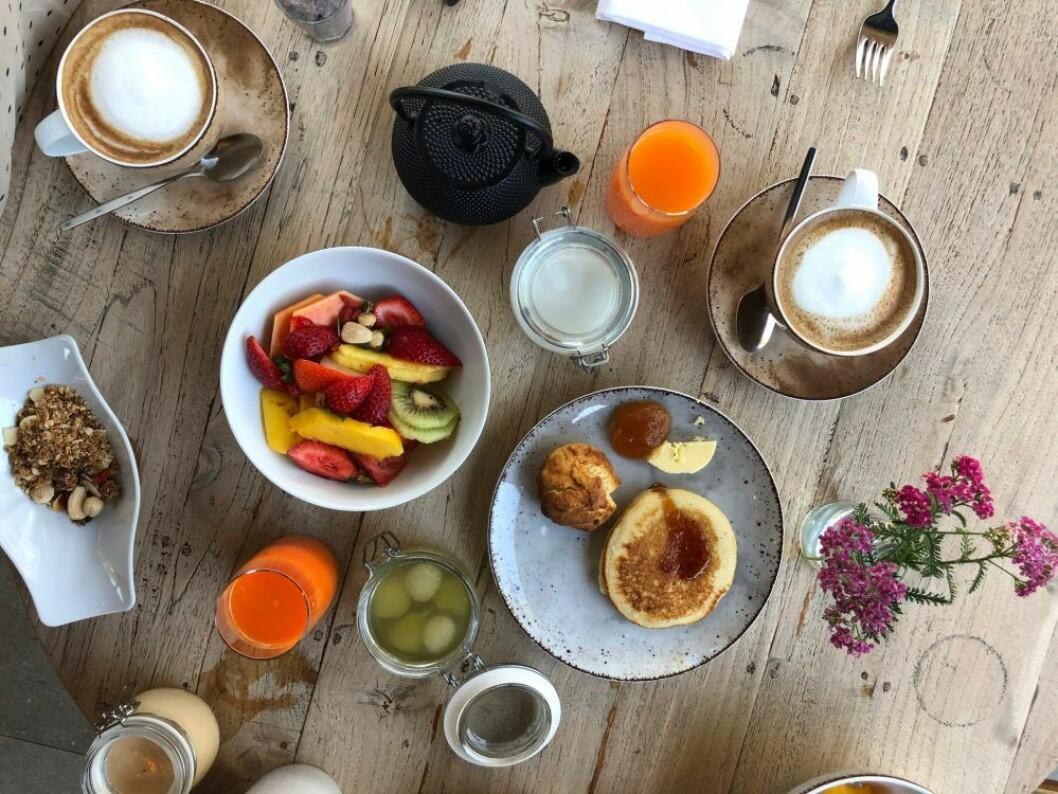 Frukost på Sublime Comporta i Portugal
