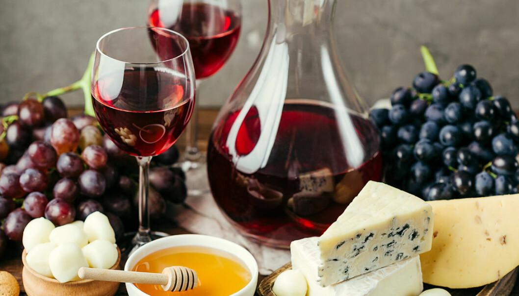 Portvin passar utmärkt tillsammans med smakrika ostar.
