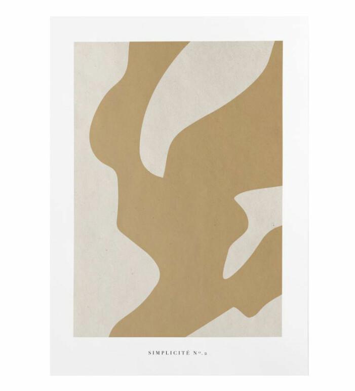 beige poster