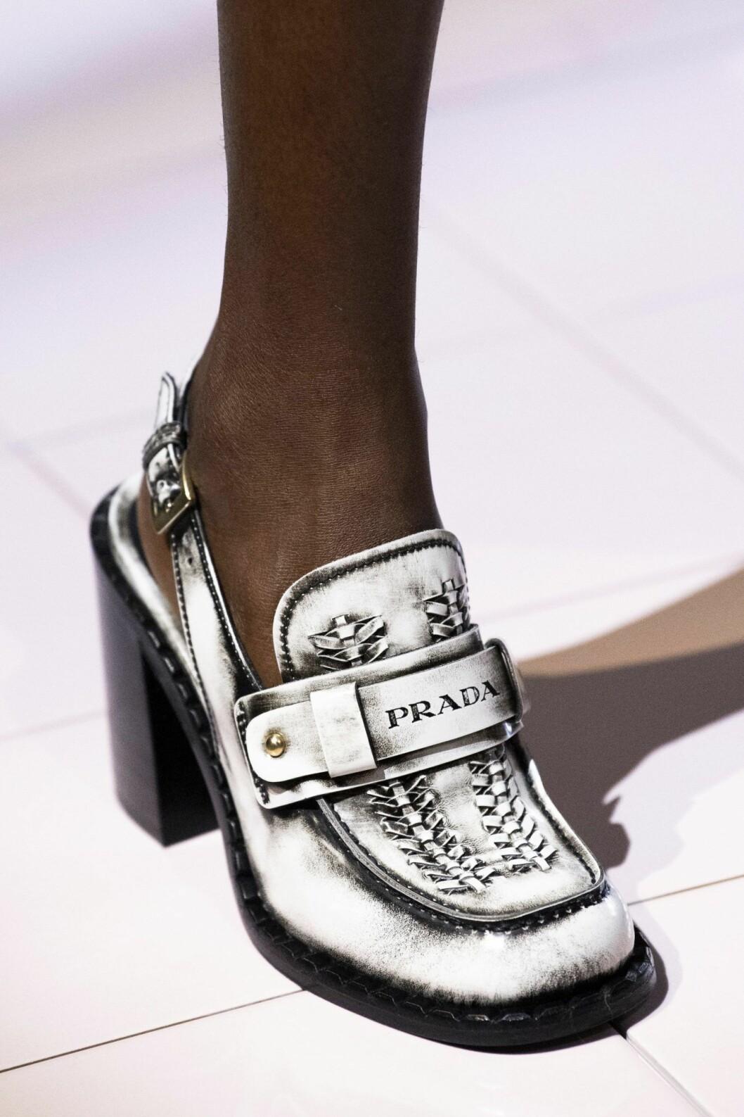 Loafers med en twist från Prada