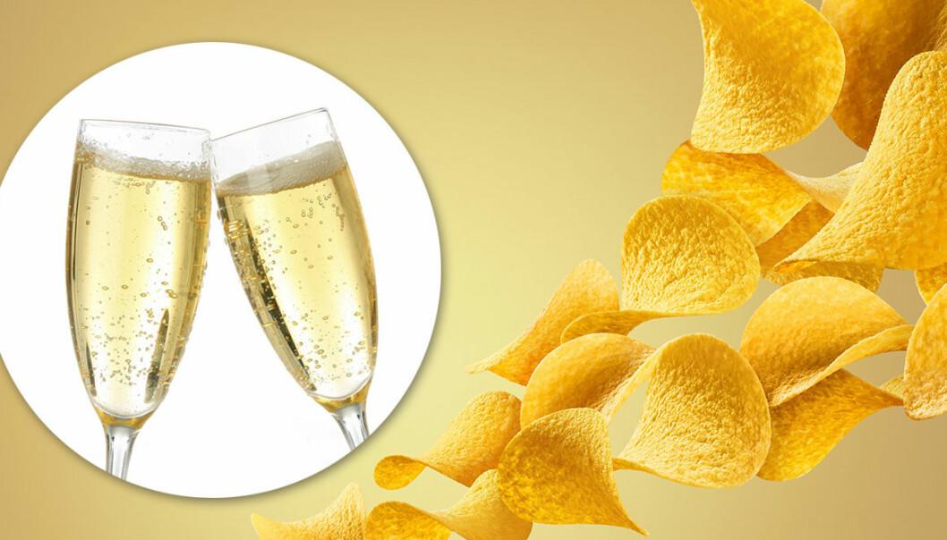 Nu finns det Pringles-chips med smak av prosecco.