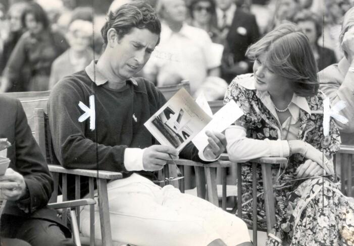 Prins Charles och Lady Sarah McCorquodale
