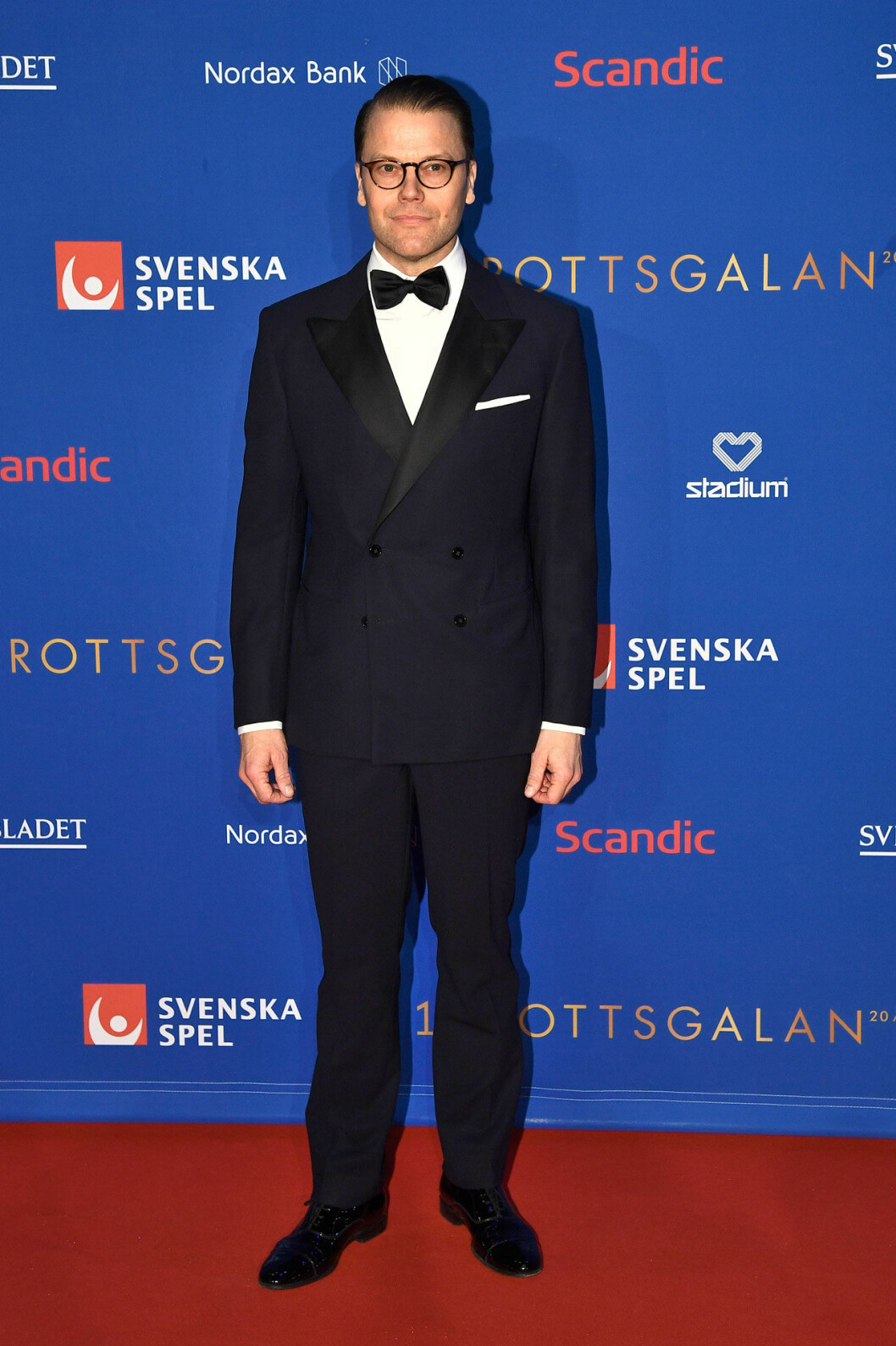 Prins Daniel på röda mattan