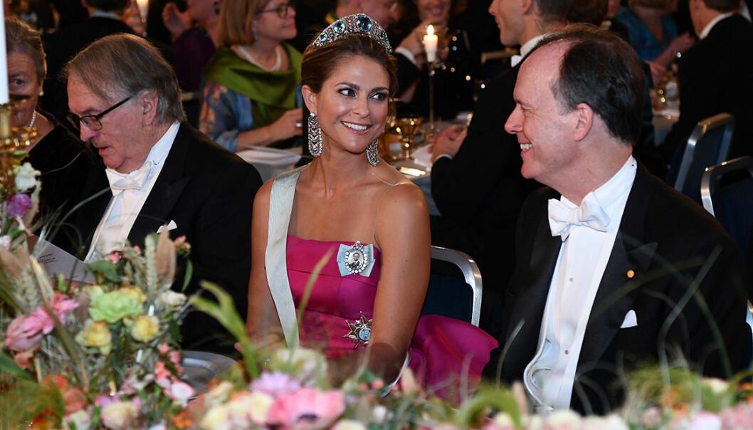 Prinsessan Madeleine på nobel 2019