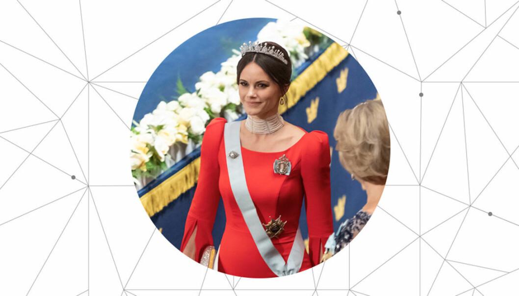 Prinsessan Sofia på Nobel 2018