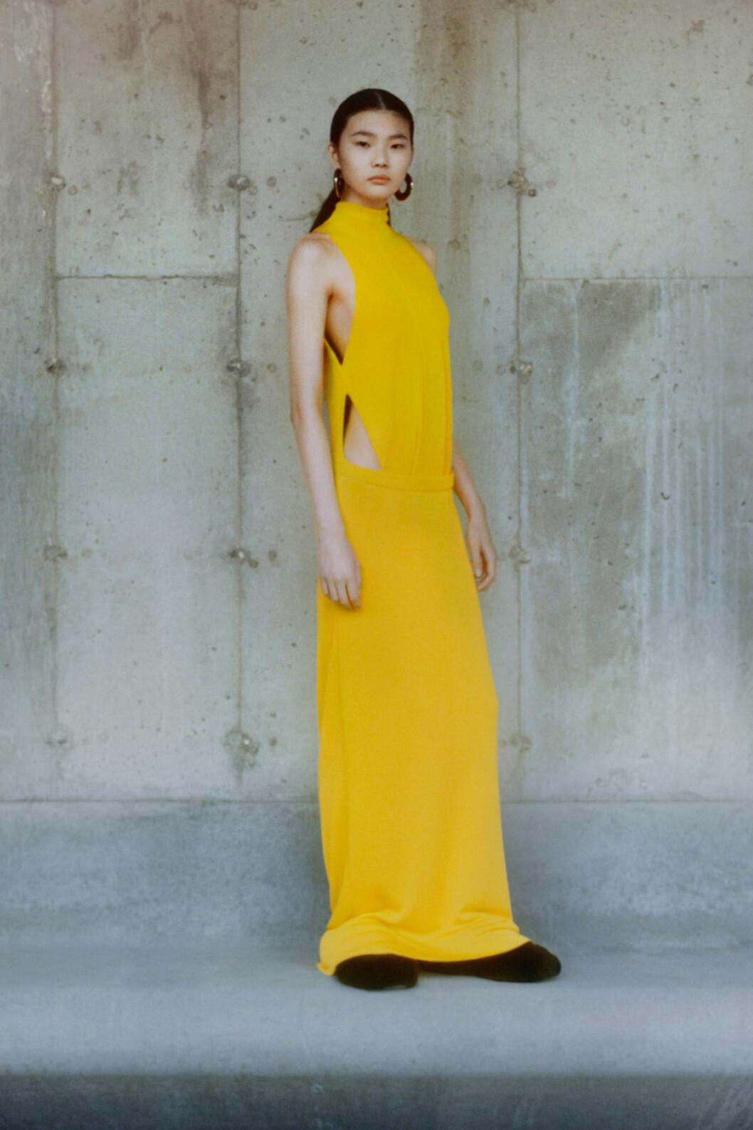 gul klänning trendfärg 2021