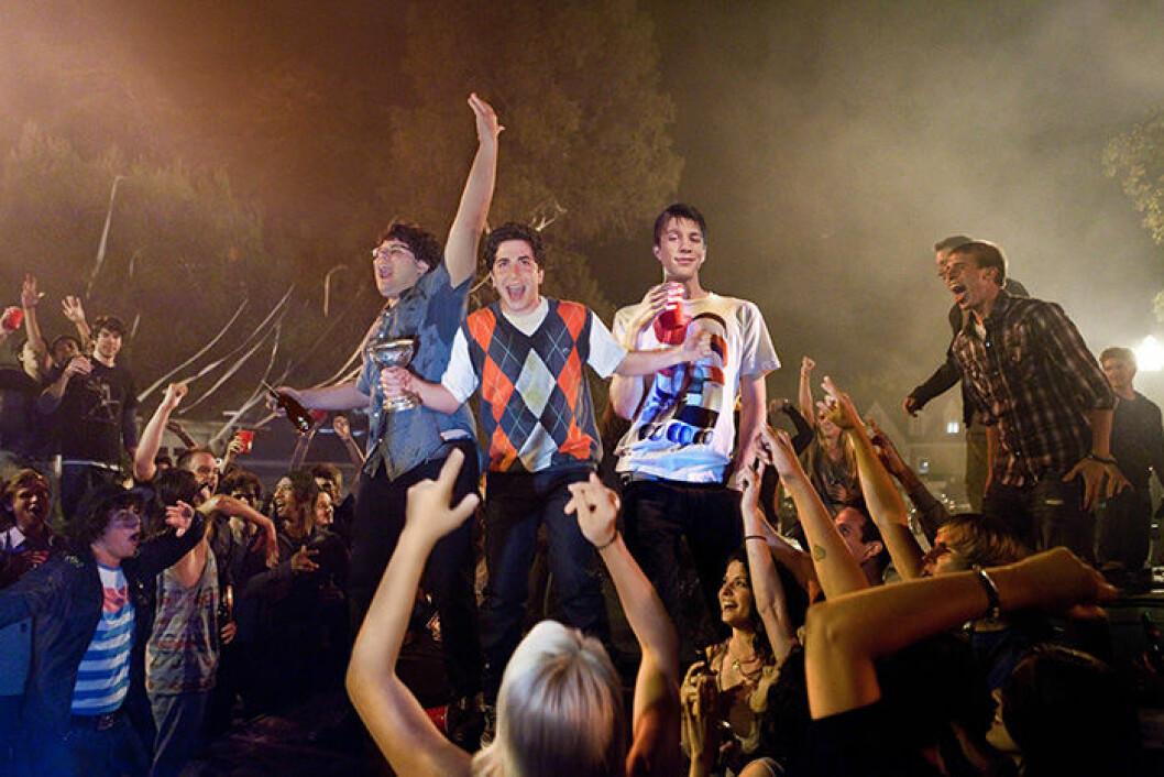 En bild från filmen Project X som du kan se på Netflix.