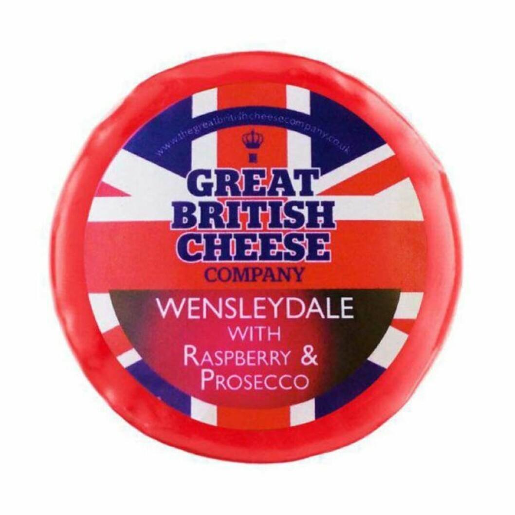 Osten tillverkas av The Great British Cheese Company.