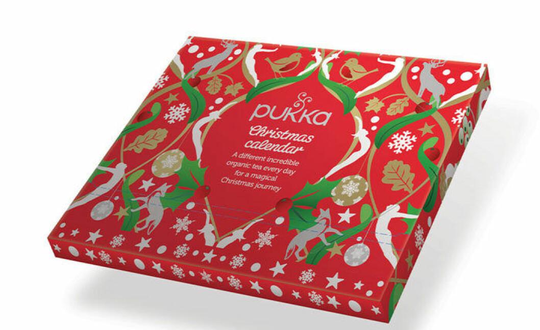 Adventskalender från Pukka.