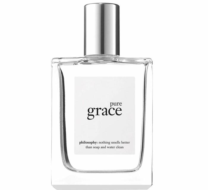 pure grace philosophy parfym nyvättat rent tvål