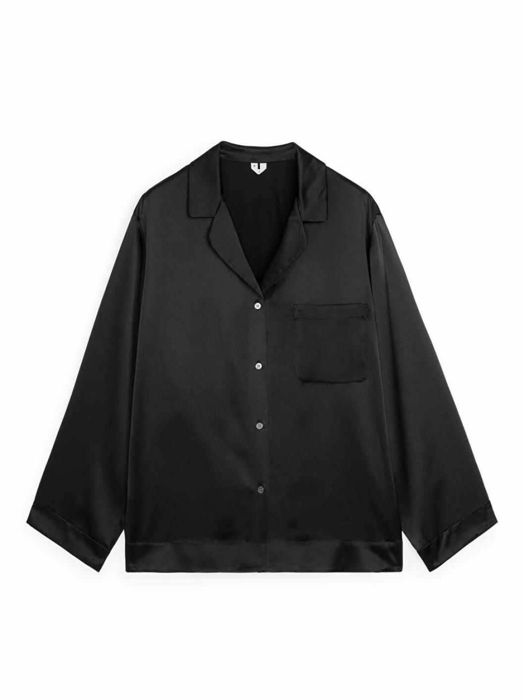 svart pyjamasskjorta arket