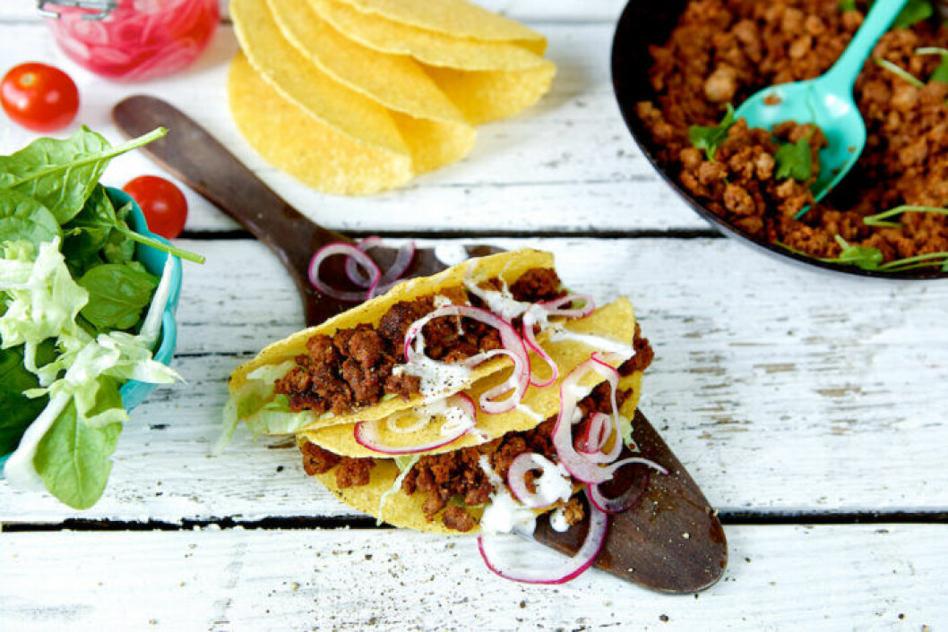 Tacos med quorn