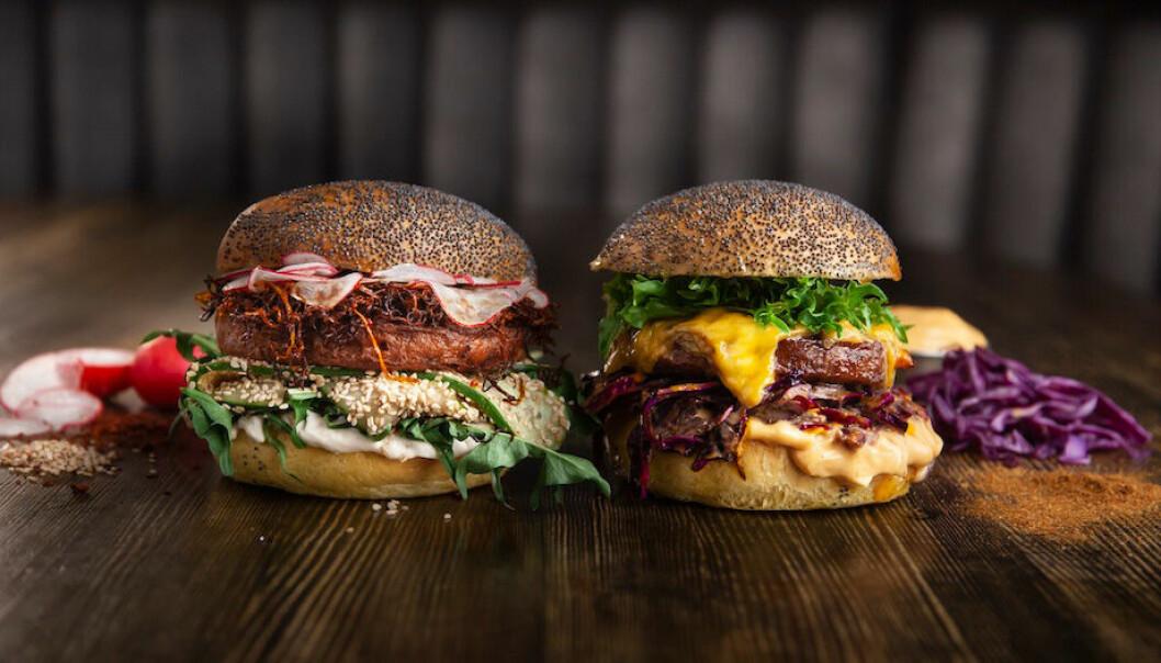 Quorn Ultimate Burger Battle mellan Bea Szenfeld och Patrik Arve.