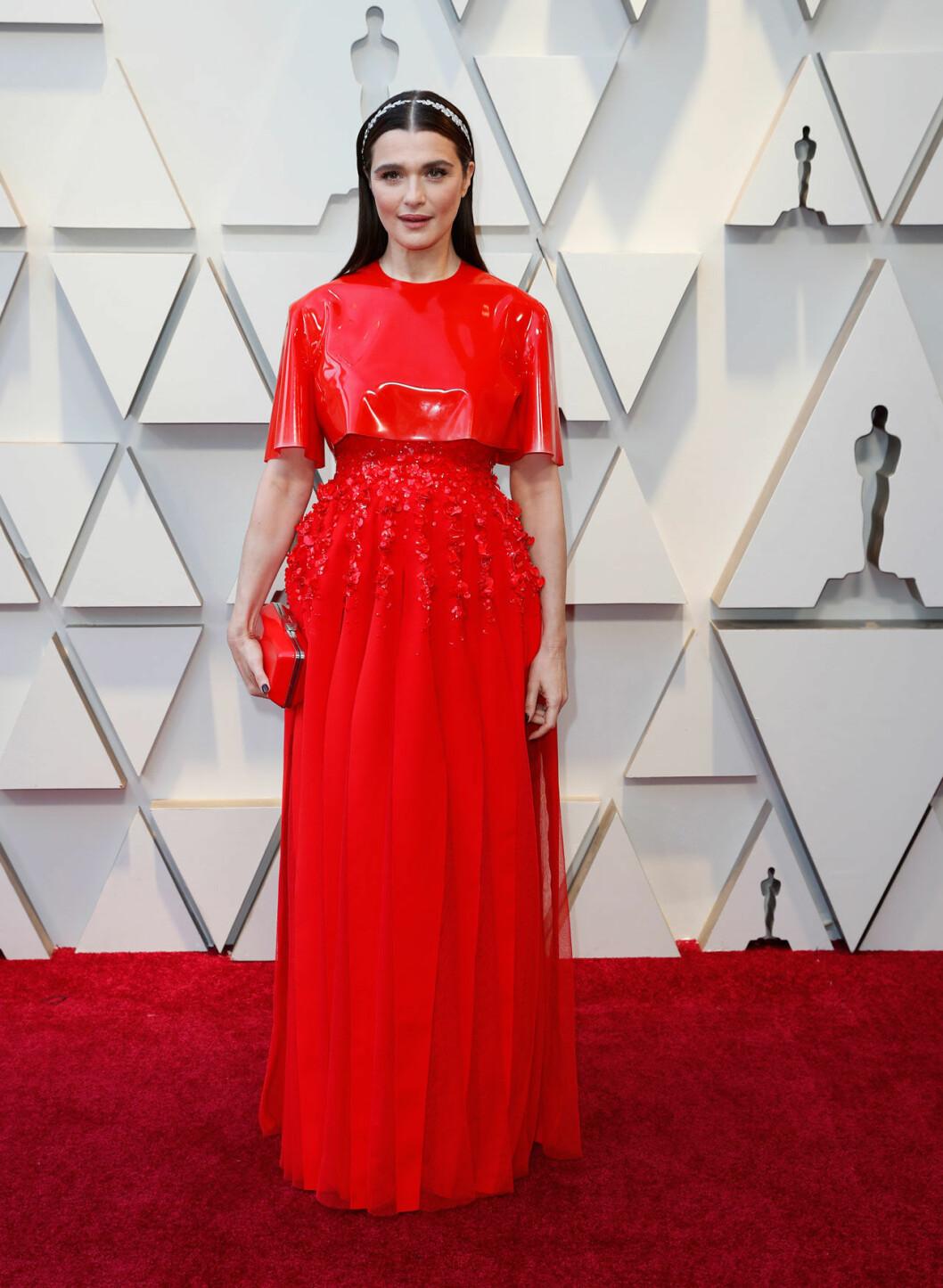 Rachel Weisz på Oscarsgalan 2019