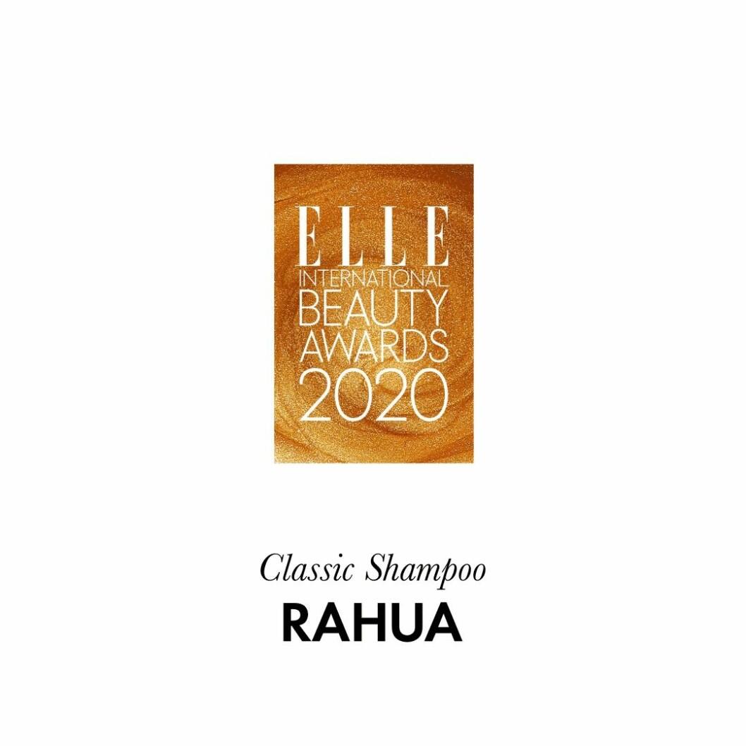 "Årets ""gröna"" hårvård Classic shampoo från Rahua."