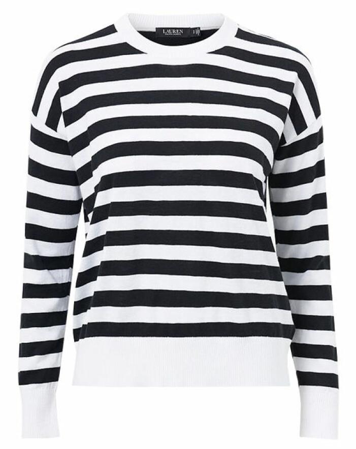 randig tröja svart vit