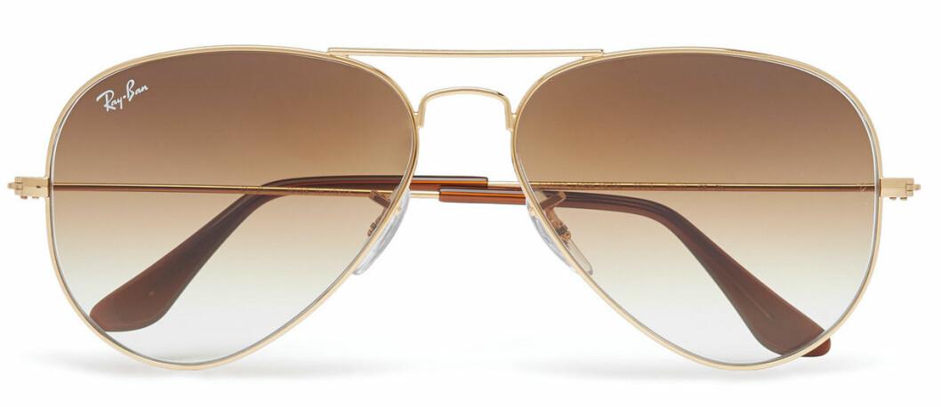 pilotglasögon med bruna glas från Ray-Ban