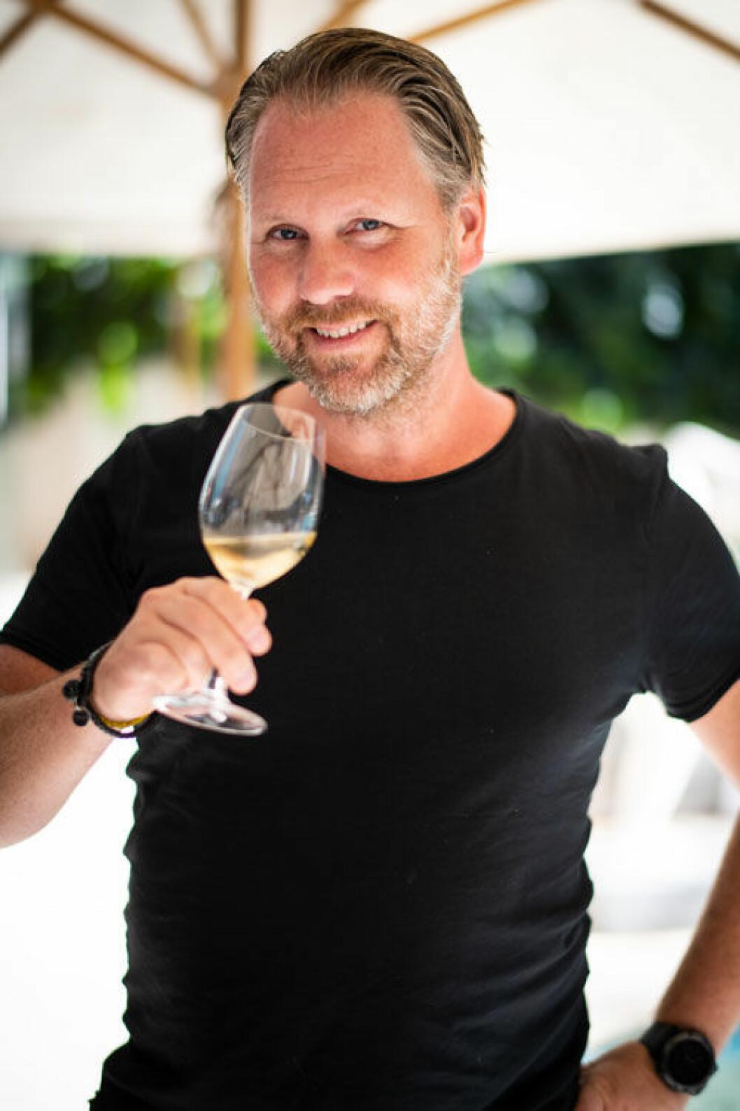 Champagneexperten Fredrik Schelin.