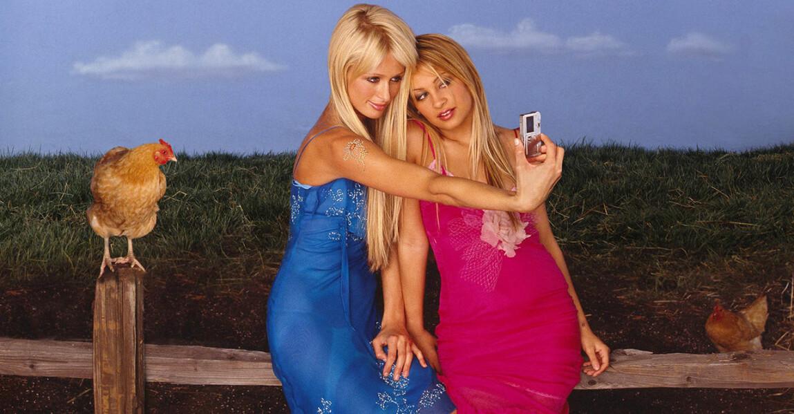 Paris Hilton och Nicole Richie i The Simple Life