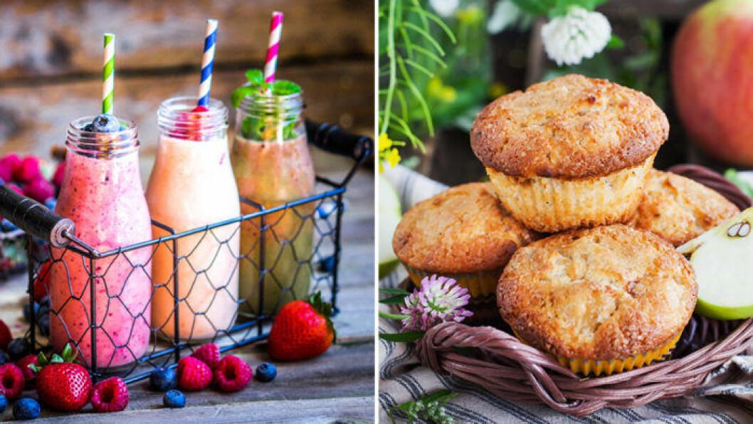 Blanda övermogen frukt i muffins eller smoothies! Foto: IBL