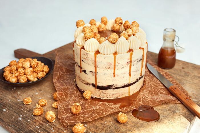 Recept på Baileys Salted Caramel cake