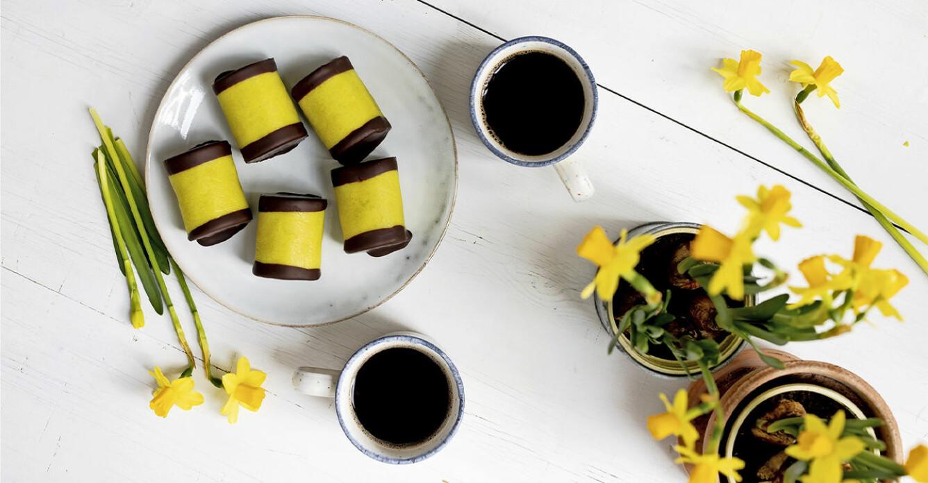 Recept på gula dammsugare till påsk