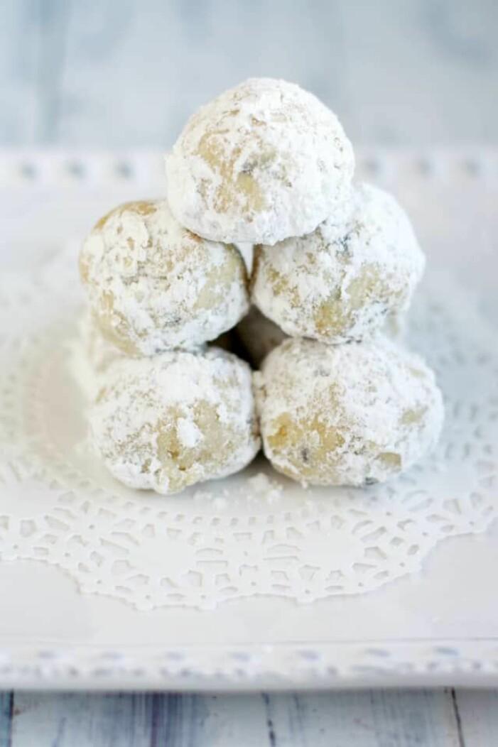 Recept på läckra snöbollar