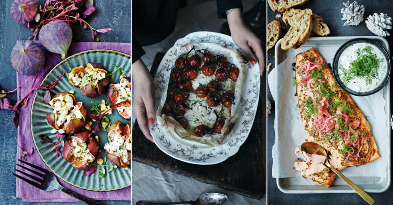 Recept på nyårsmat för många