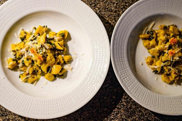 Recept på pumpagnocchi