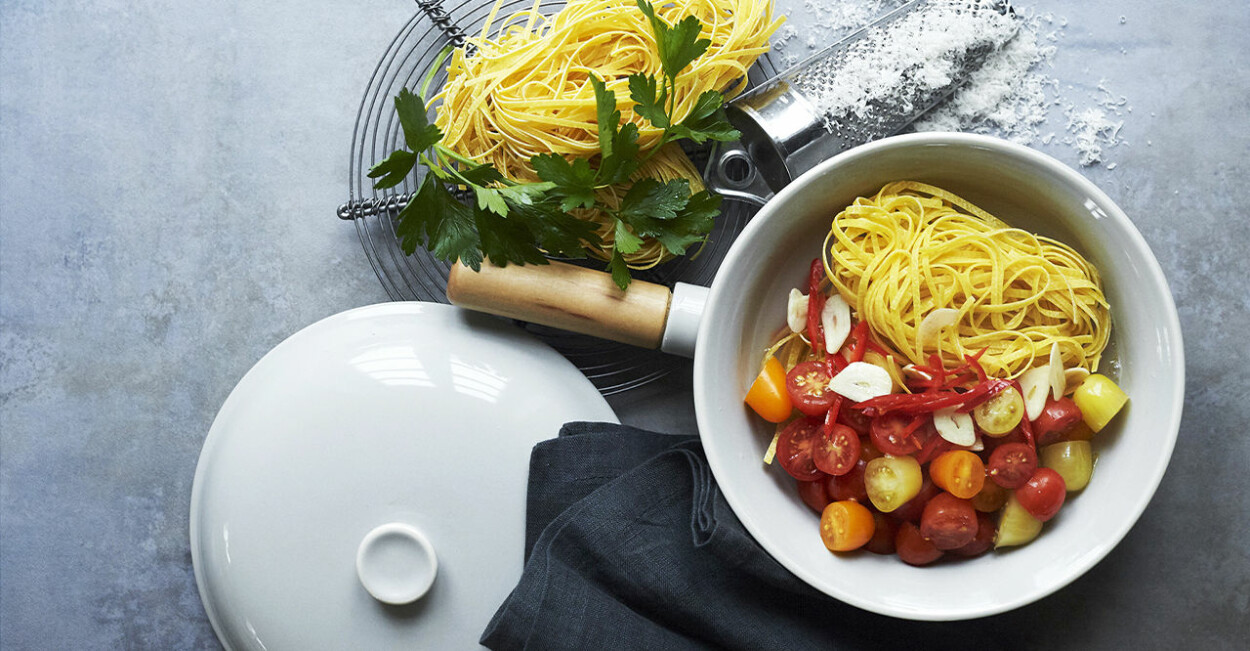 Recept på snabb one pot pasta