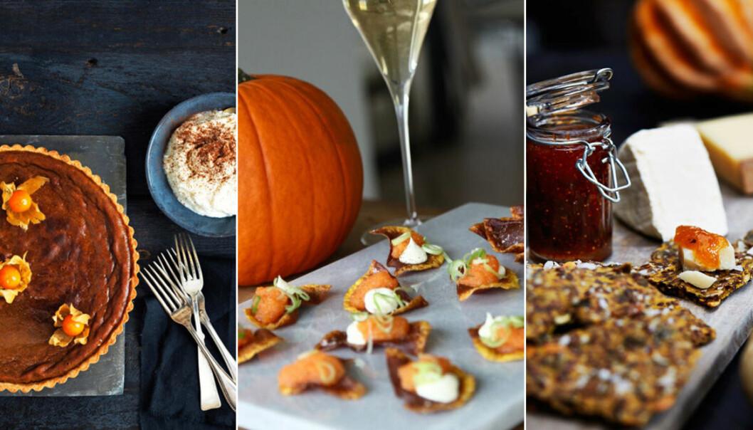 Recept på snacks, efterrätter och godis till Halloween