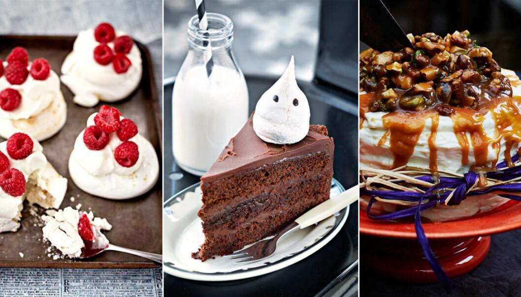 Recept på tårtor och bakverk till Halloween