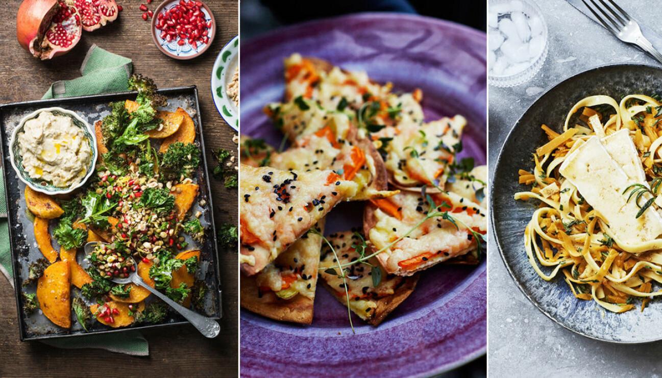 Recept på vegetarisk mat till Halloween