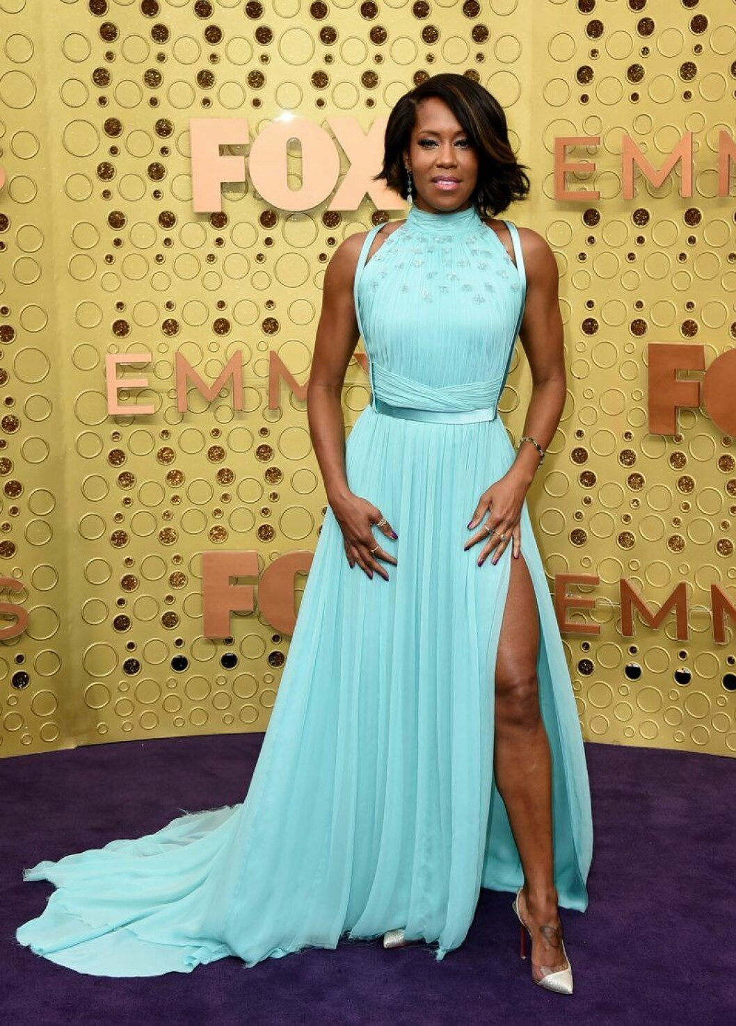 Regina King på röda mattan på Emmy Awards 2019