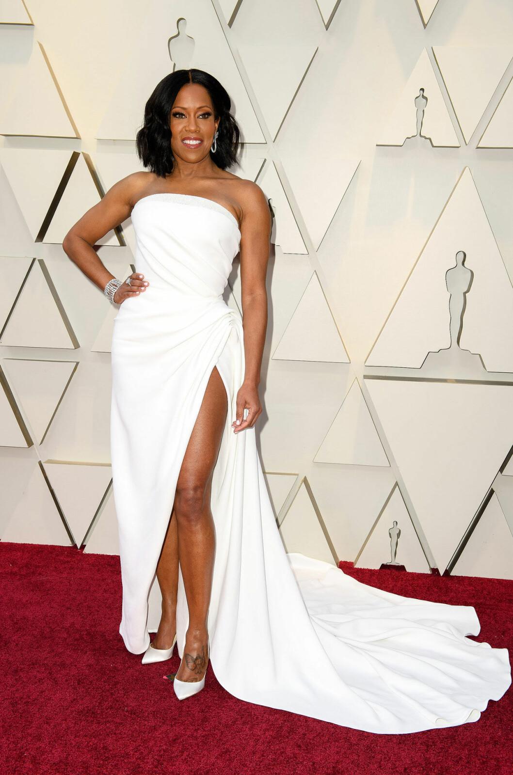 Regina King på Oscarsgalan 2019