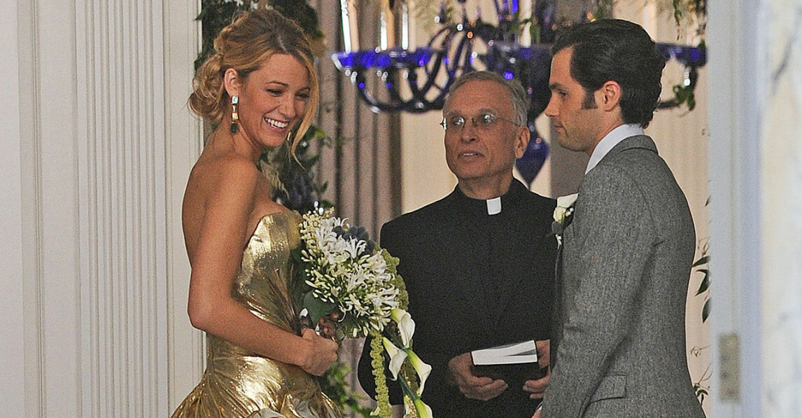 Serena och Dan gifter sig