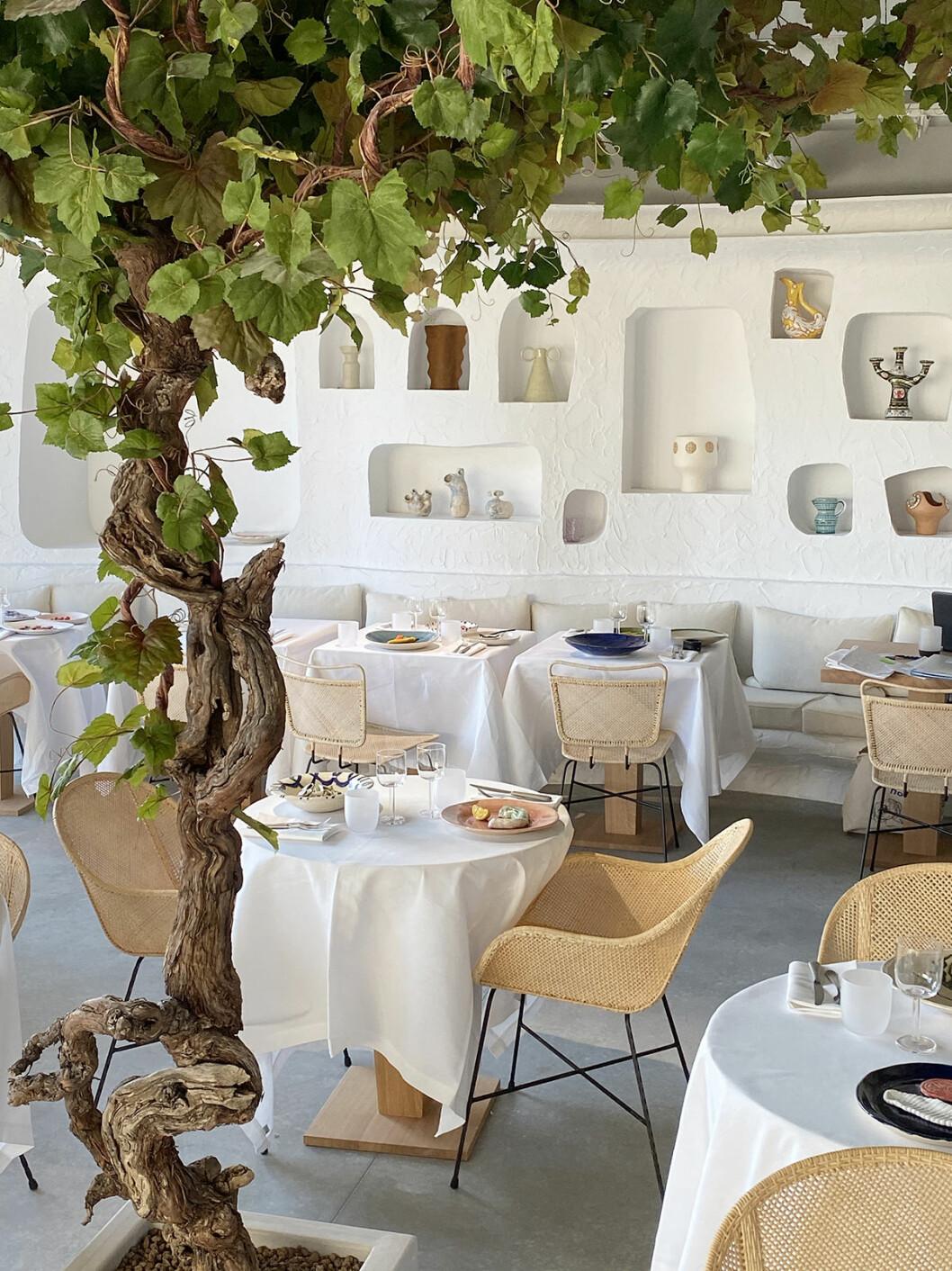 Restaurang Oursin i Paris