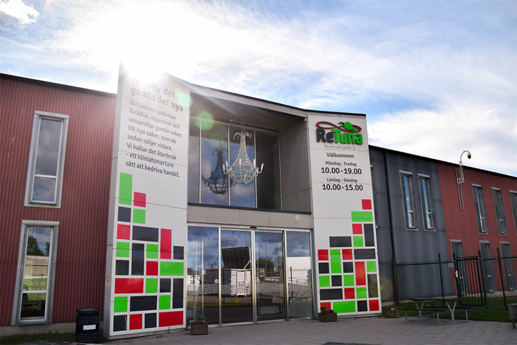 ReTuna i Eskilstuna där Ikea öppnar sin första secondhand-butik