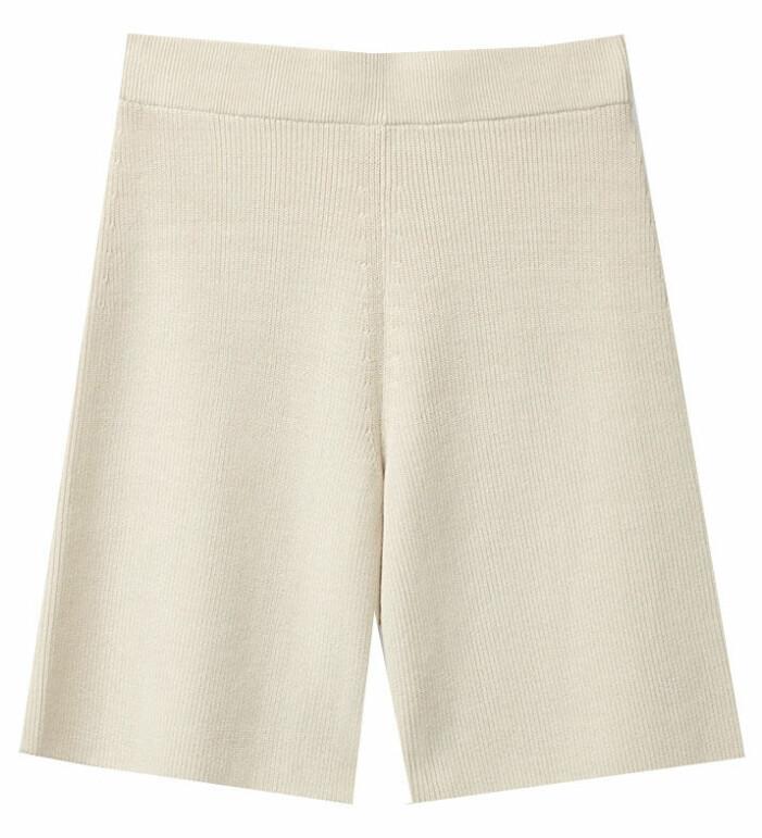 ribbstickade shorts cos