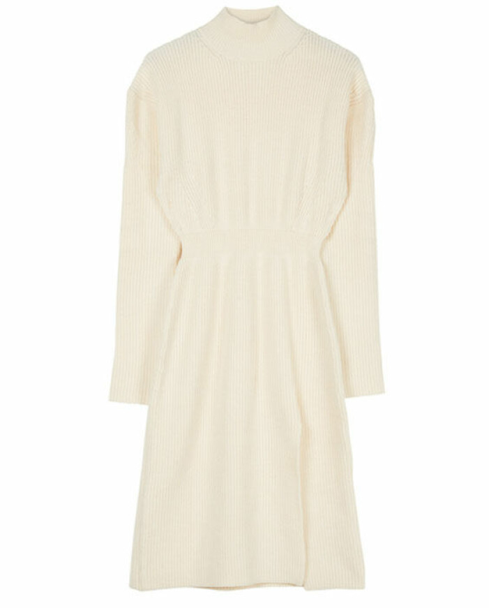 ribbstickad klänning adoore